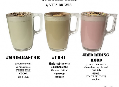Our Special teas…#Madagascar, #Chai, #RedRidingHood