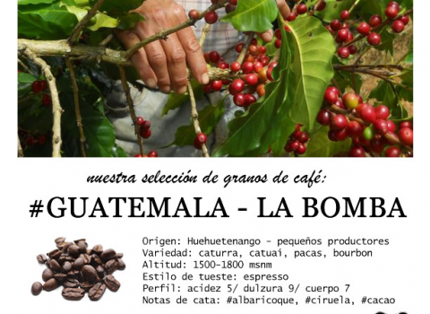 Our coffee beans selection… #Guatemala